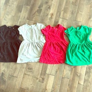 Lot of 4 Primary Dresses!